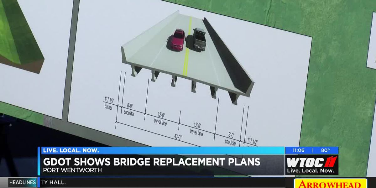 GDOT shows bridge replacement plans