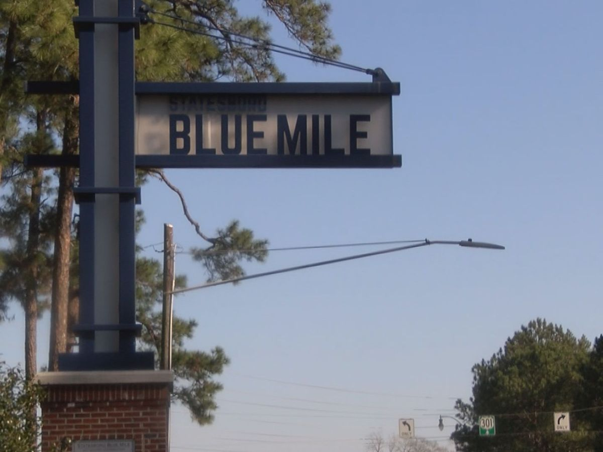 Construction to begin soon on Stateboro's Blue Mile Project