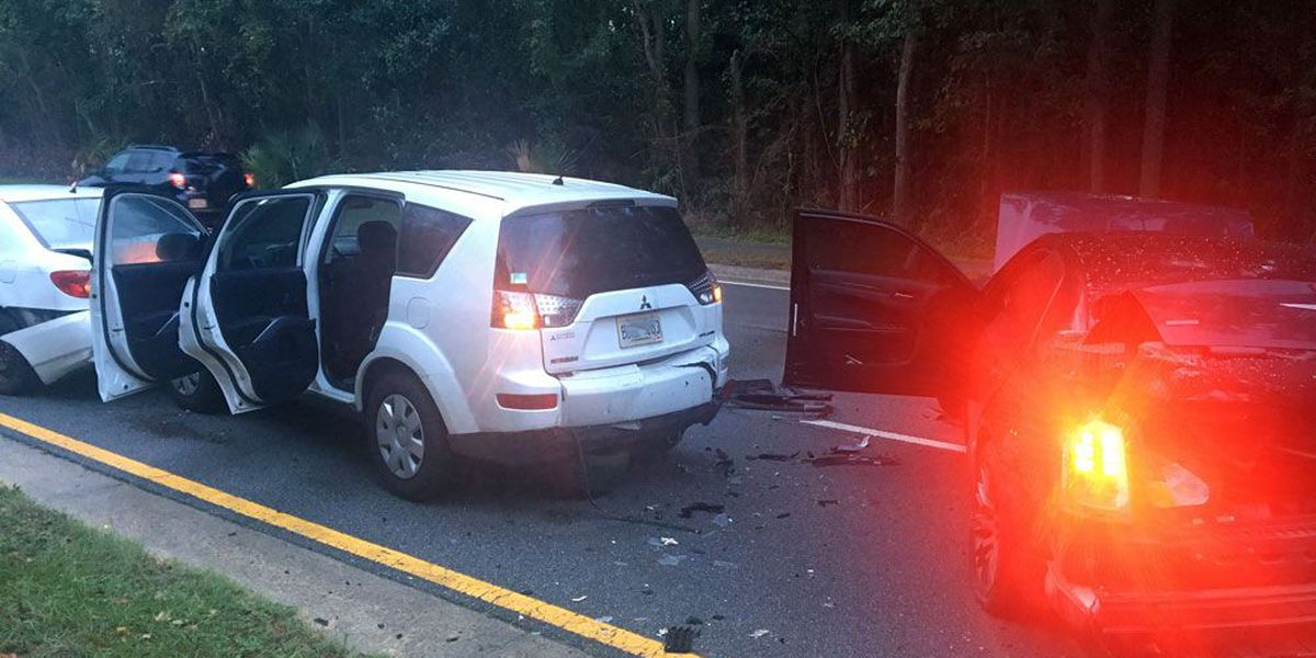 Multiple-vehicle wreck cleared on Abercorn Street/204 near Armstrong State