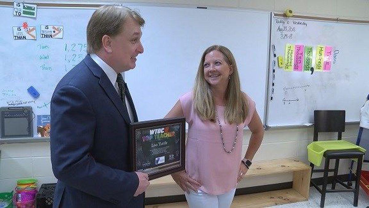 Top Teacher: Lisa Tuttle, Richmond Hill Elementary School