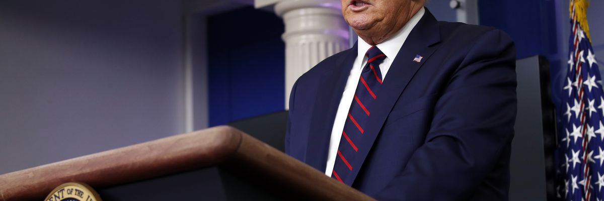 LIVE: Trump gives briefing from White House