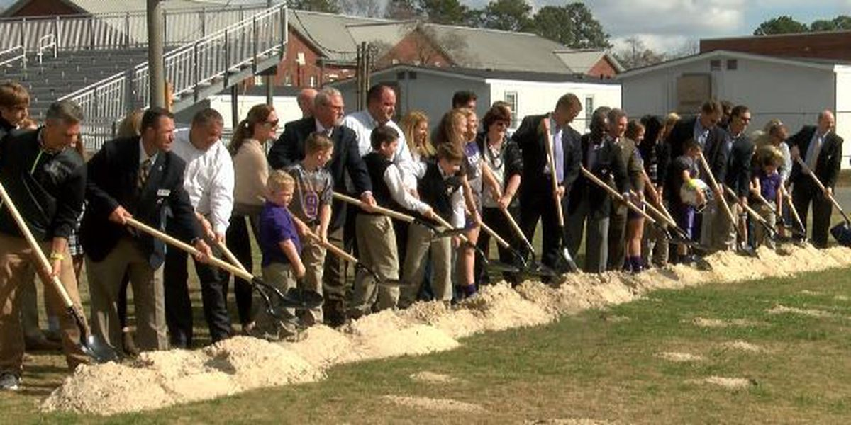 Calvary Day breaks ground on new athletic facility