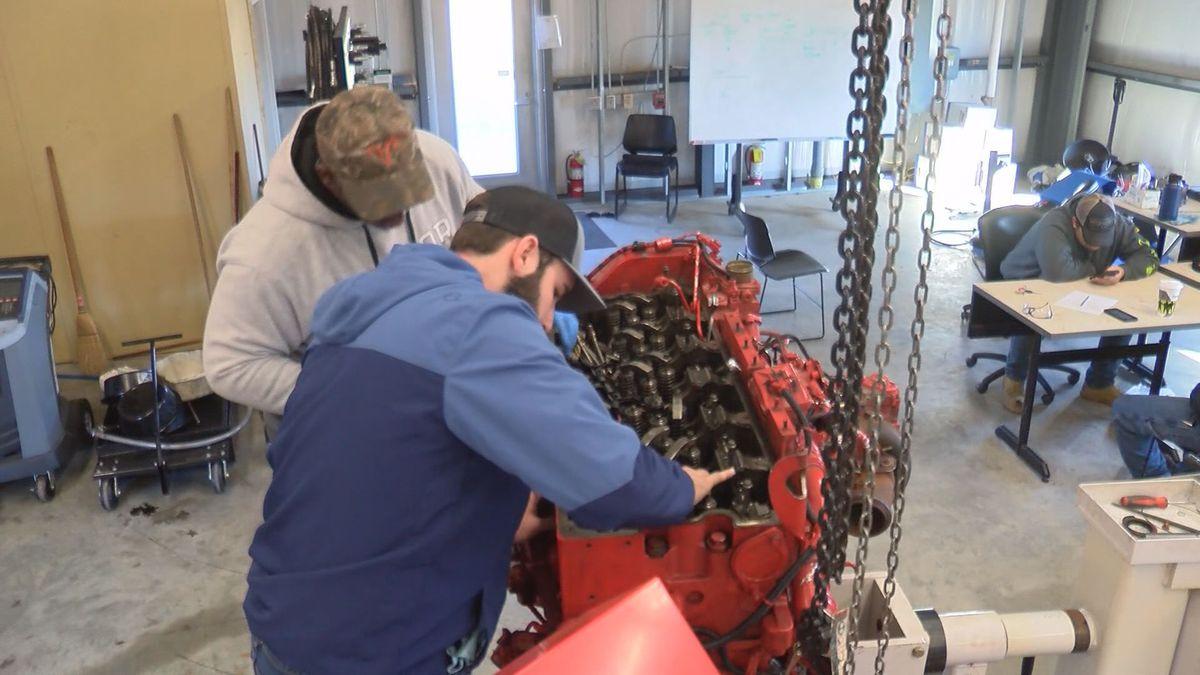 Ogeechee Tech's Heavy Diesel program