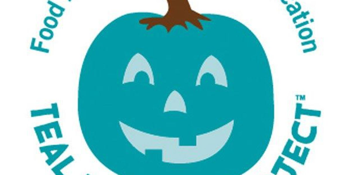 Teal pumpkins to welcome trick-or-treaters with food allergies