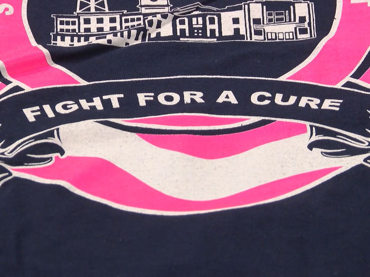 Statesboro firefighters raise breast cancer awareness with pink shirts