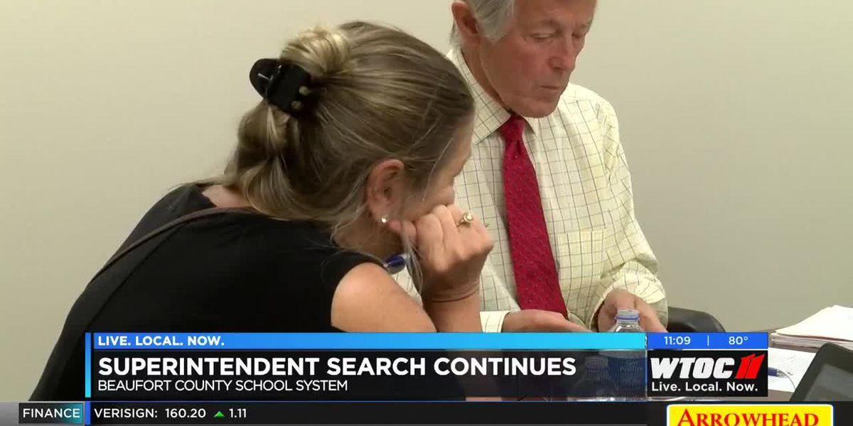 Search continues for Beaufort County Schools superintendent