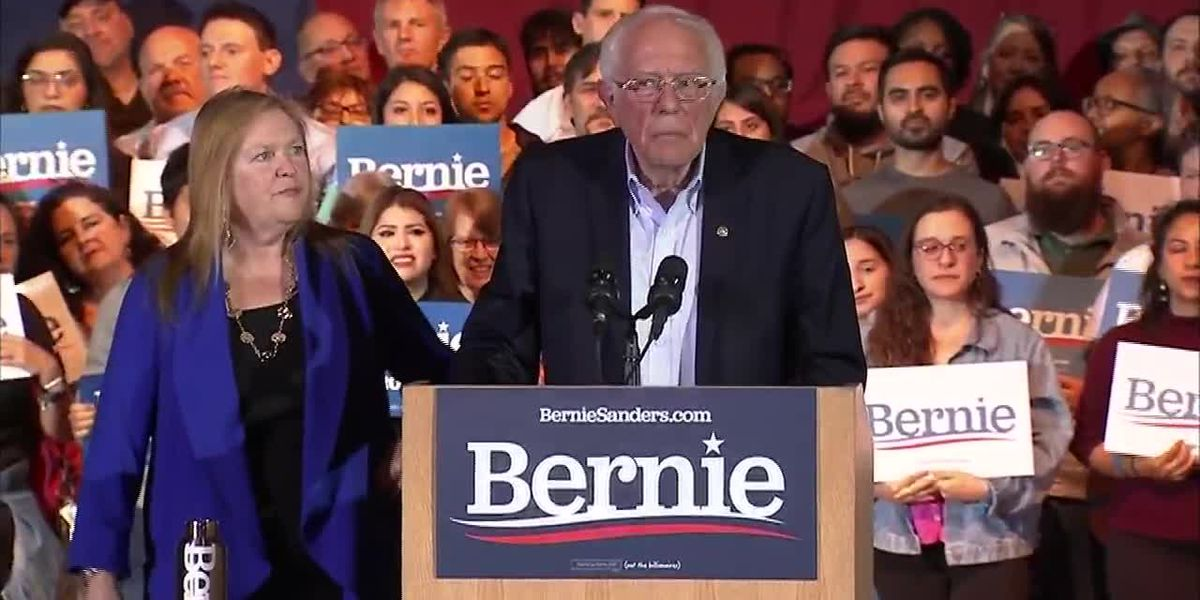 Sanders wins Nevada caucuses, making him clear Democratic frontrunner