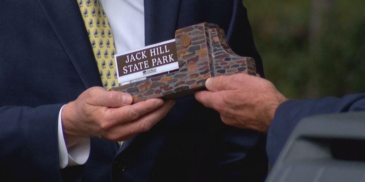 Ga. state park renamed after late Sen. Jack Hill