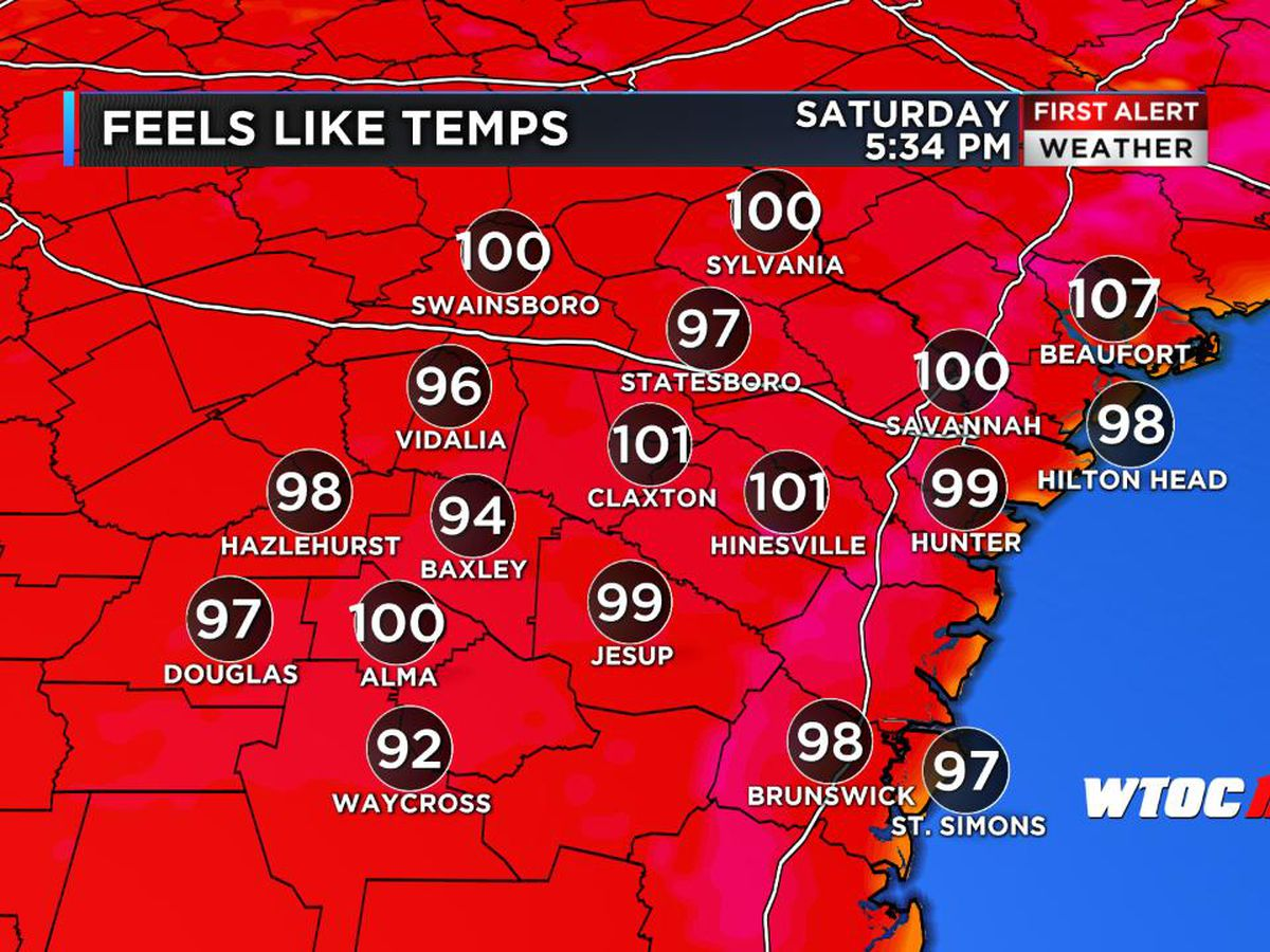 First Alert Weather Day: Near record-breaking temperatures continue throughout weekend