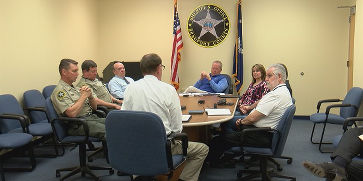Beaufort County sheriff holds meeting to discuss budget needs with county council