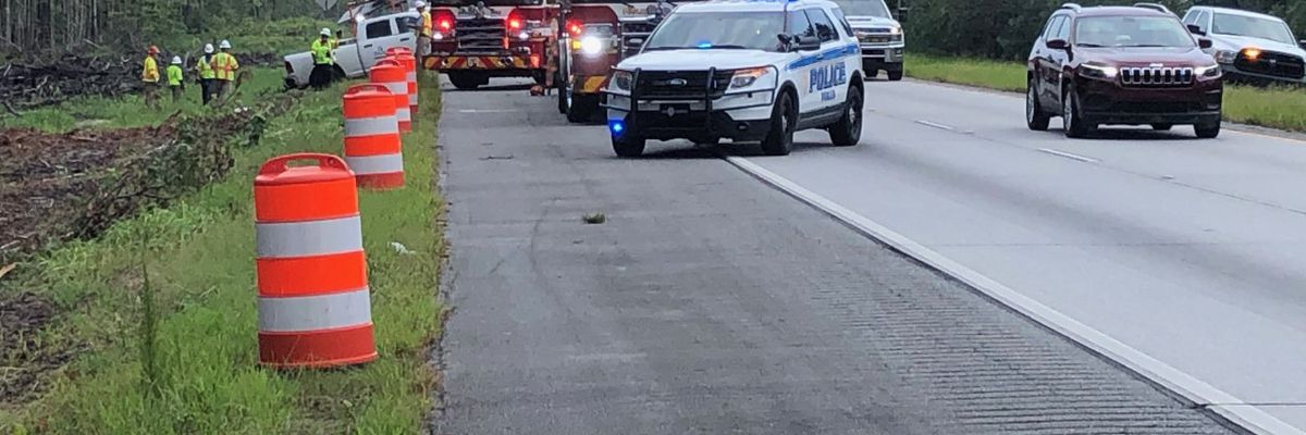 I-16 back open after three-car crash between Pooler Parkway and I-95
