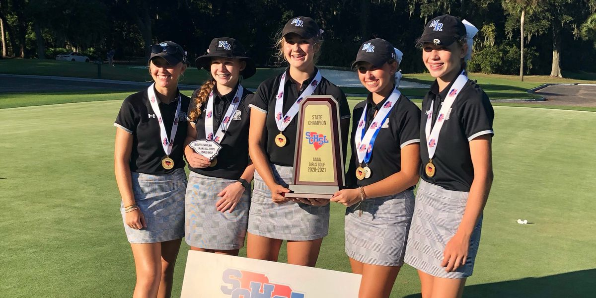 May River claims SCHSL girls' golf title