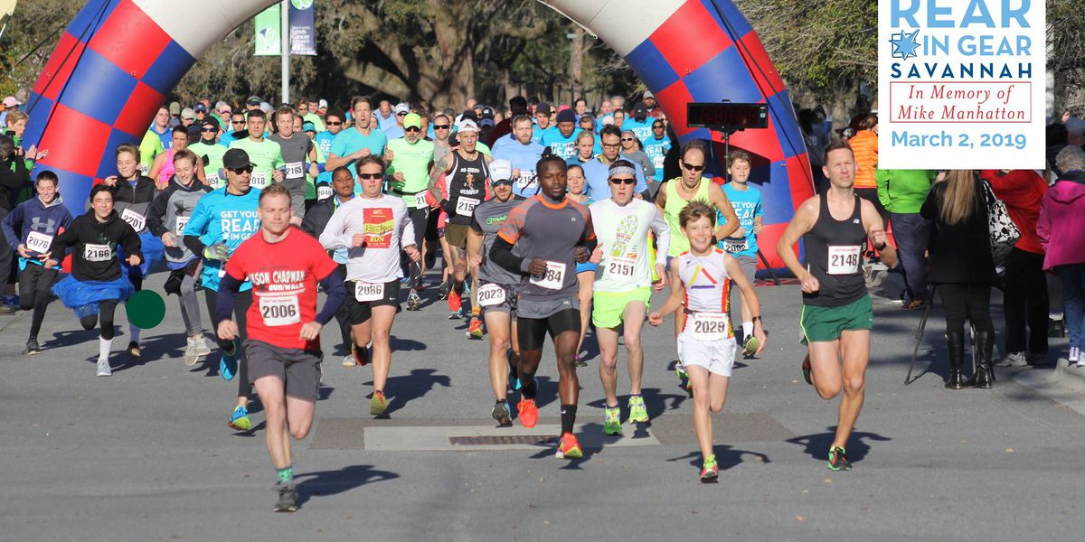 Get Your Rear in Gear 5K is on March 7