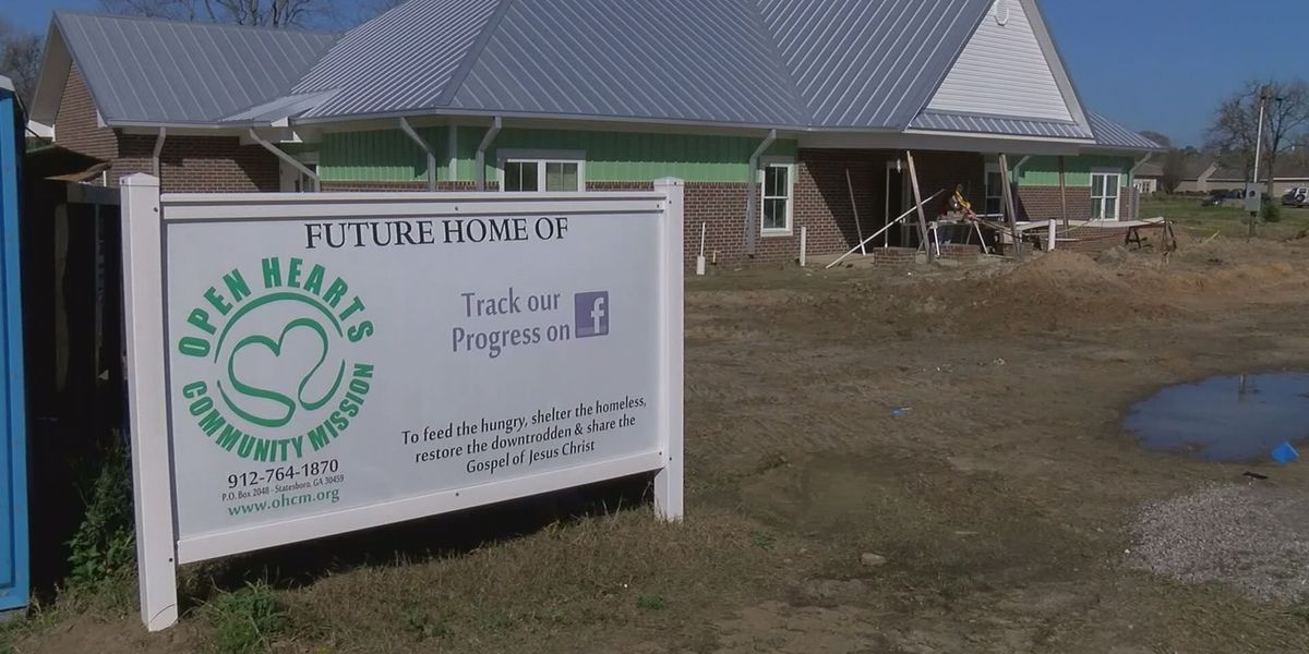 Open Hearts Community Mission close to opening in Bulloch Co.