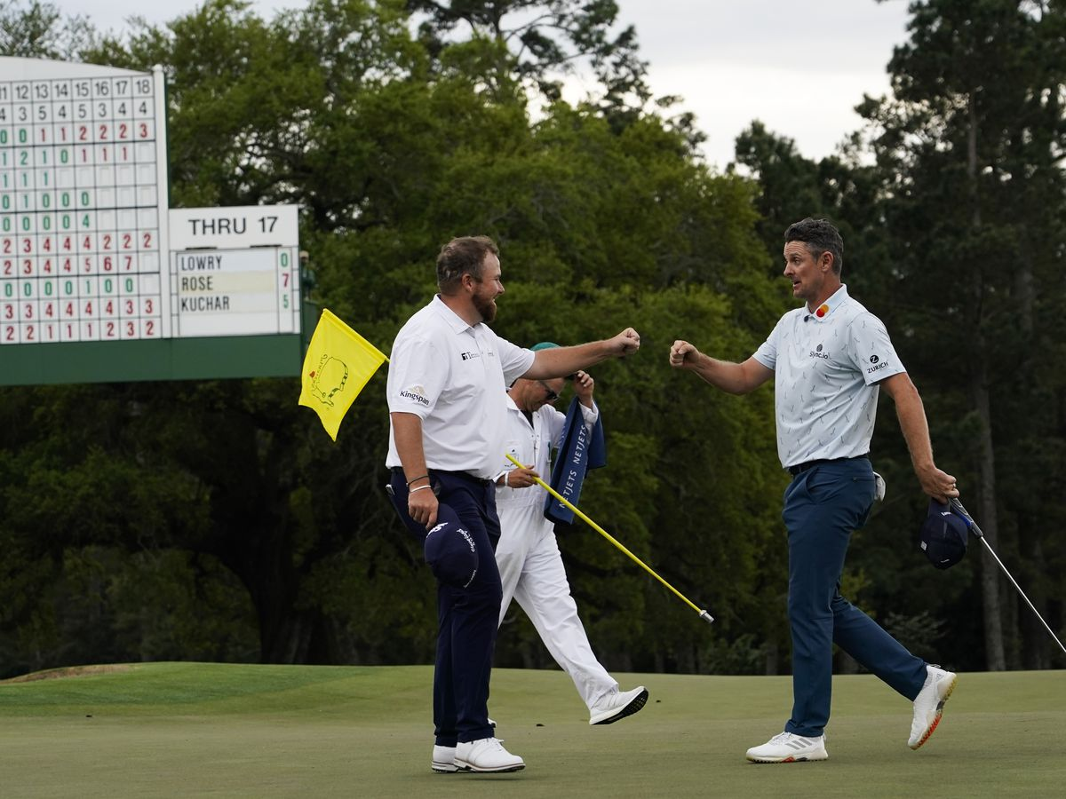 A brief look at the opening round of the Masters