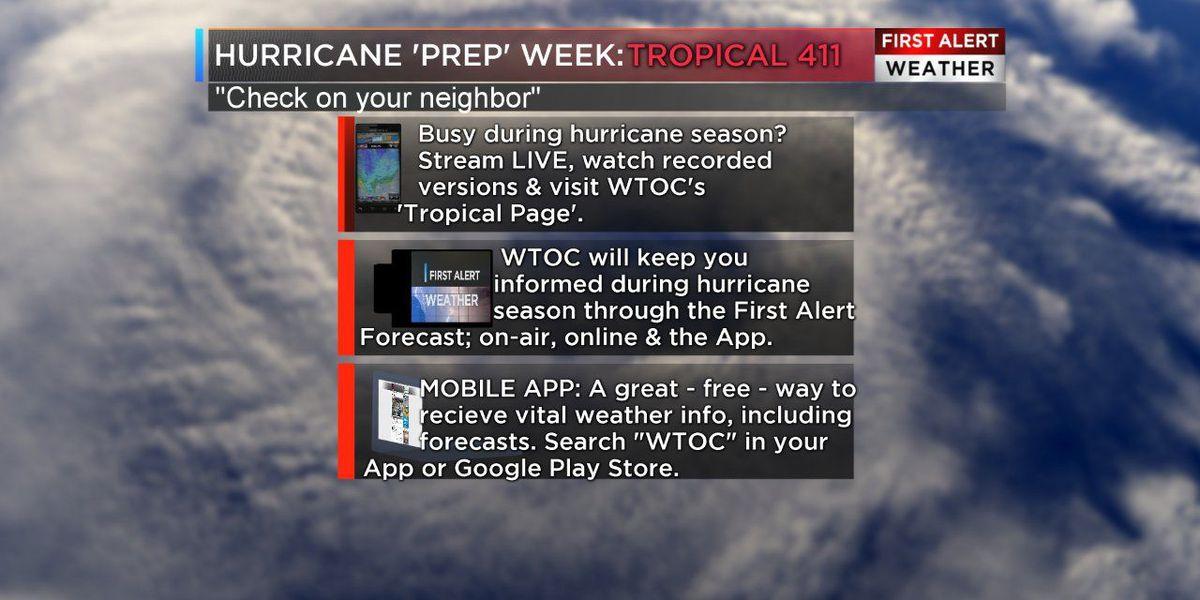 Hurricane Preparedness Week: Is your neighbor prepared?