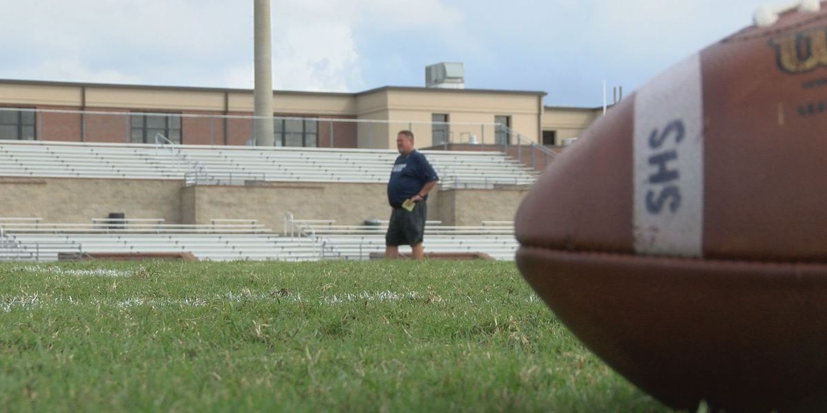 Statesboro High's football coach back after COVID-19 complications