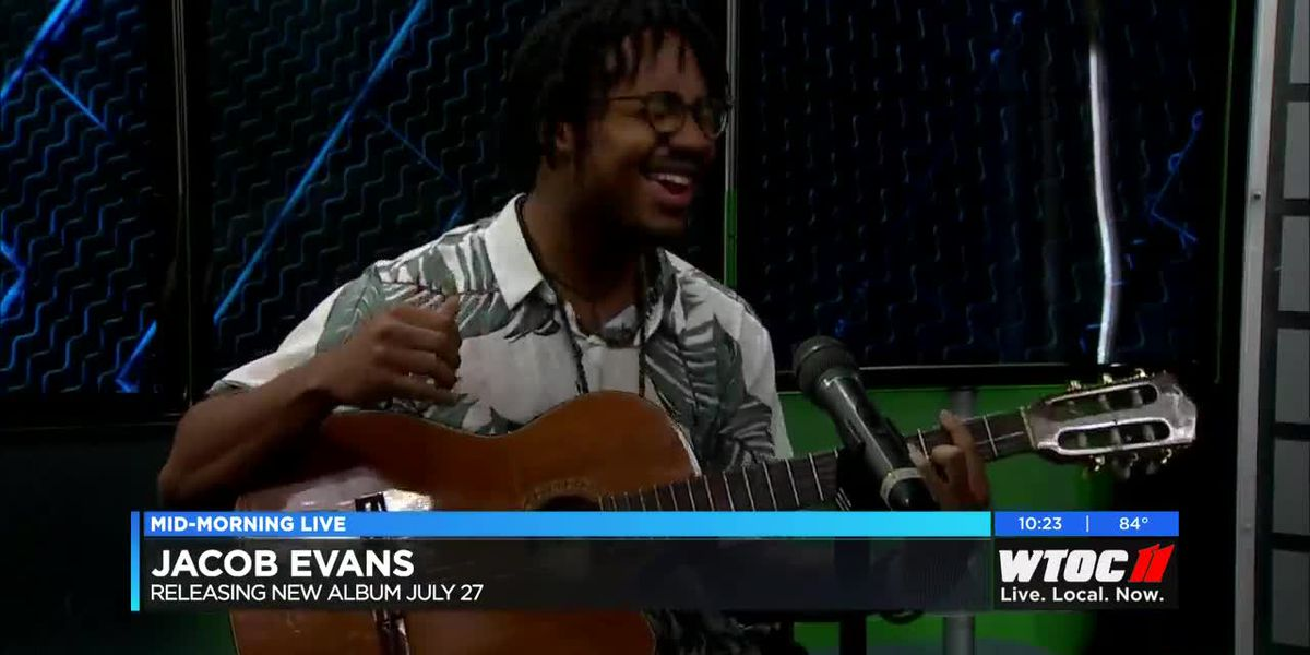 Local artist Jacob Evans gives sneak peek into new album.