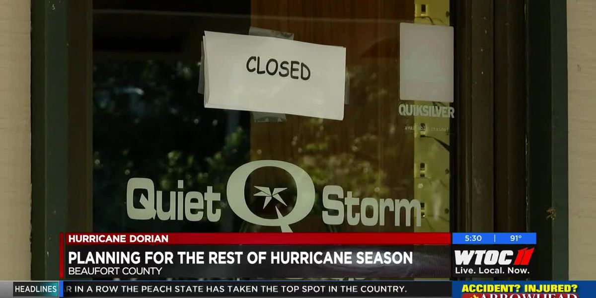 Beaufort County planning for remainder of hurricane season