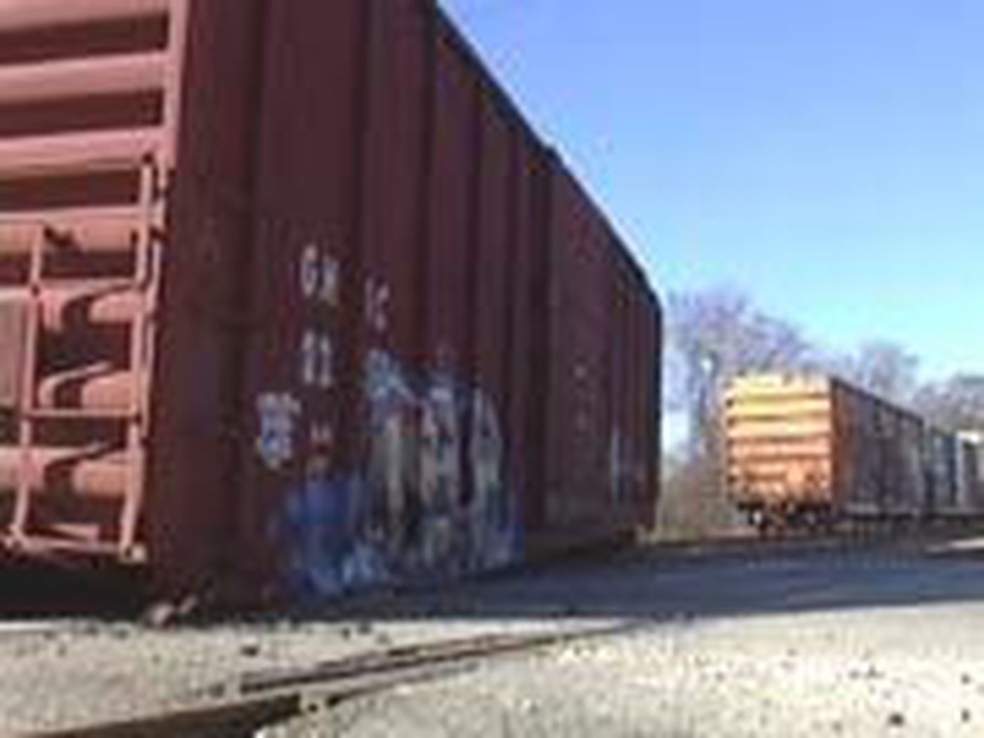 A Train Derailment Forces Traffic on Telfair To Detour