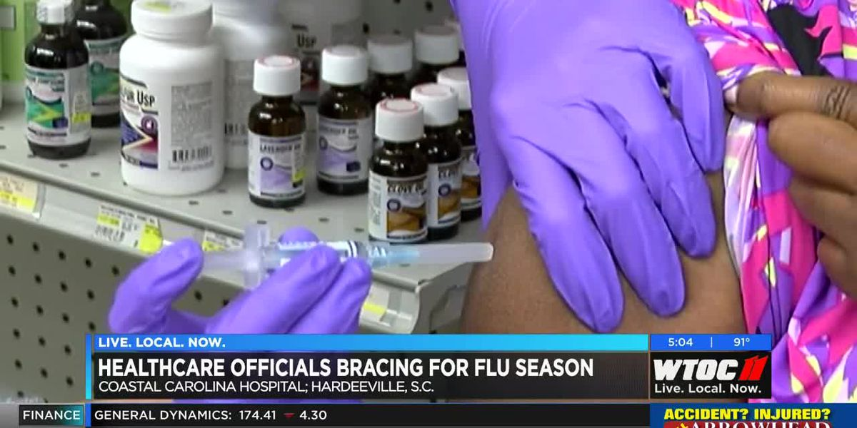 Lowcountry healthcare officials bracing for flu season