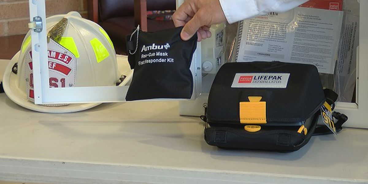 Chatham Emergency Services donates AEDs to St. Peter the Apostle School