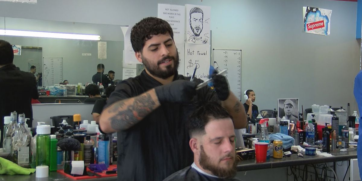 Barbershops seeing fewer customers due to COVID-19