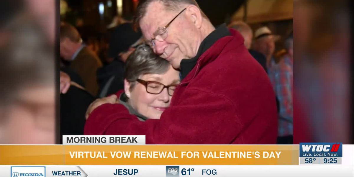Savannah keeps Valentine's Day tradition going with Virtual Vow Renewal ceremony