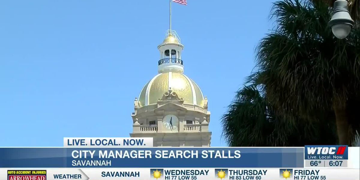 No final decision made yet on new Savannah city manager