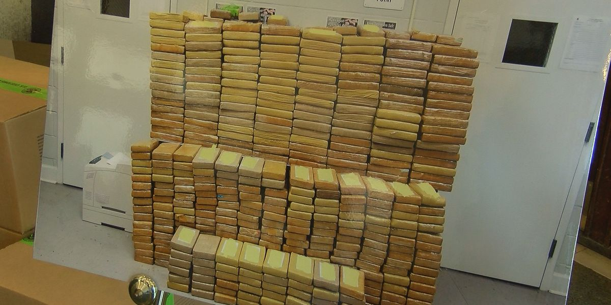 Record cocaine load seized at Port of Savannah