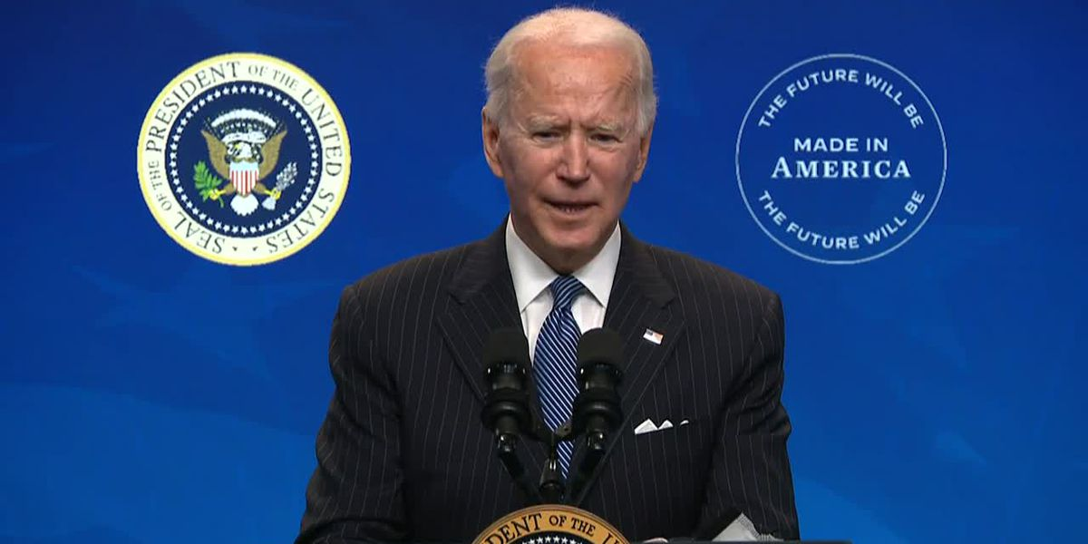 Biden hoping for bipartisan agreement on $1.9 trillion COVID-19 stimulus deal