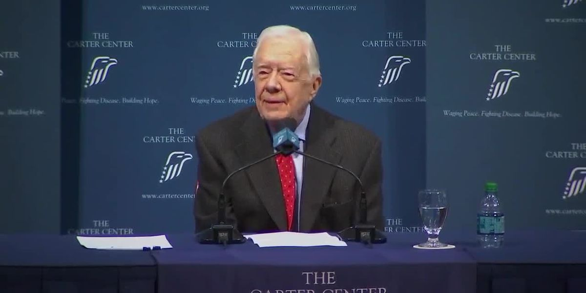 Former President Jimmy Carter suffers another fall at his Ga. home