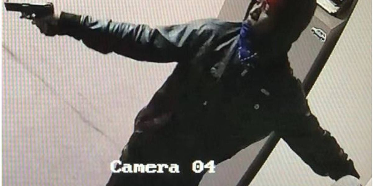 Garden City P.D. seeks to identify armed robbery suspect