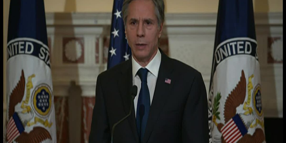Secretary of State Blinken: Democracy under attack