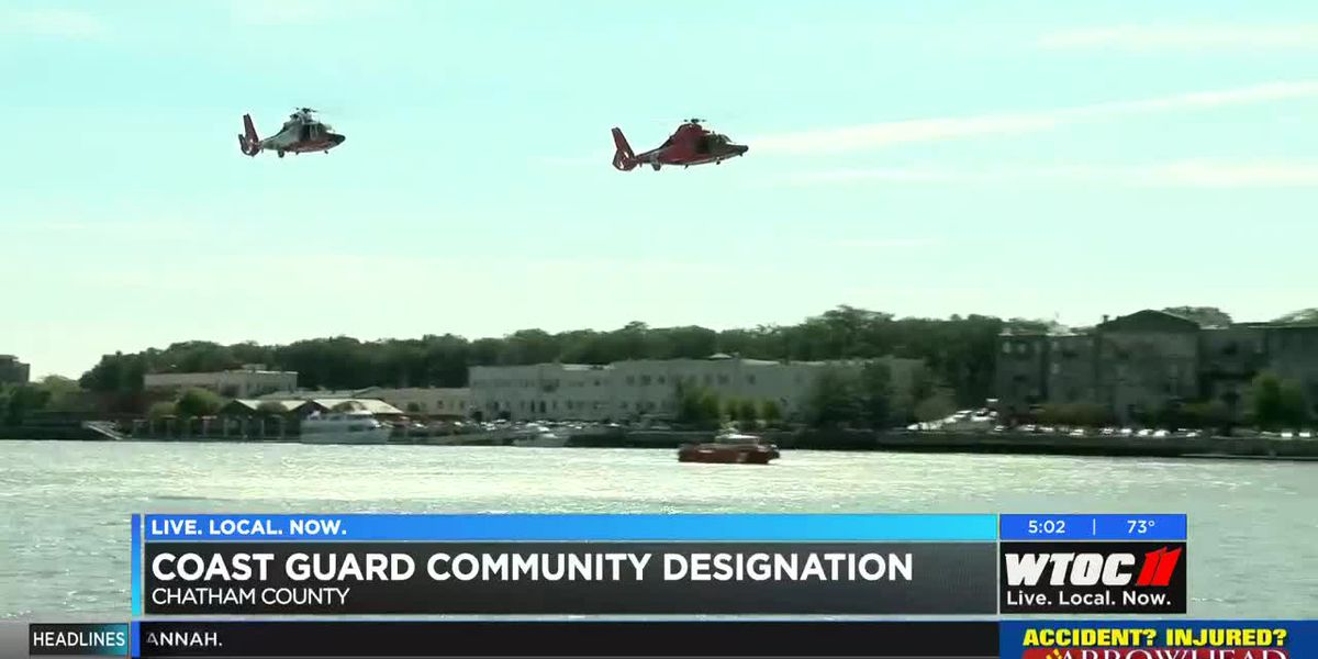 Chatham County designated as U.S. Coast Guard Community