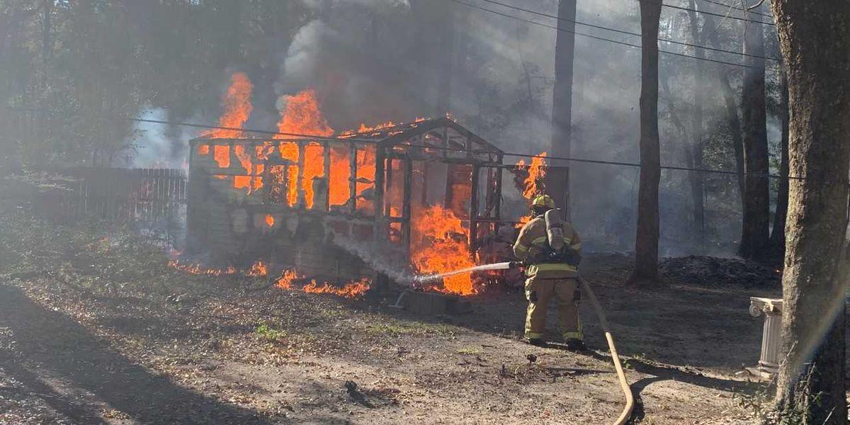 Brush fires continue to plague Burton South Carolina