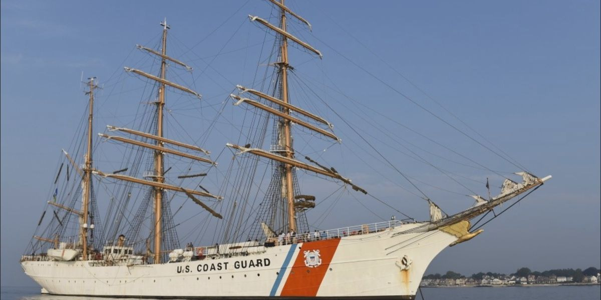 Coast Guard Cutter Eagle to arrive in Savannah on Friday