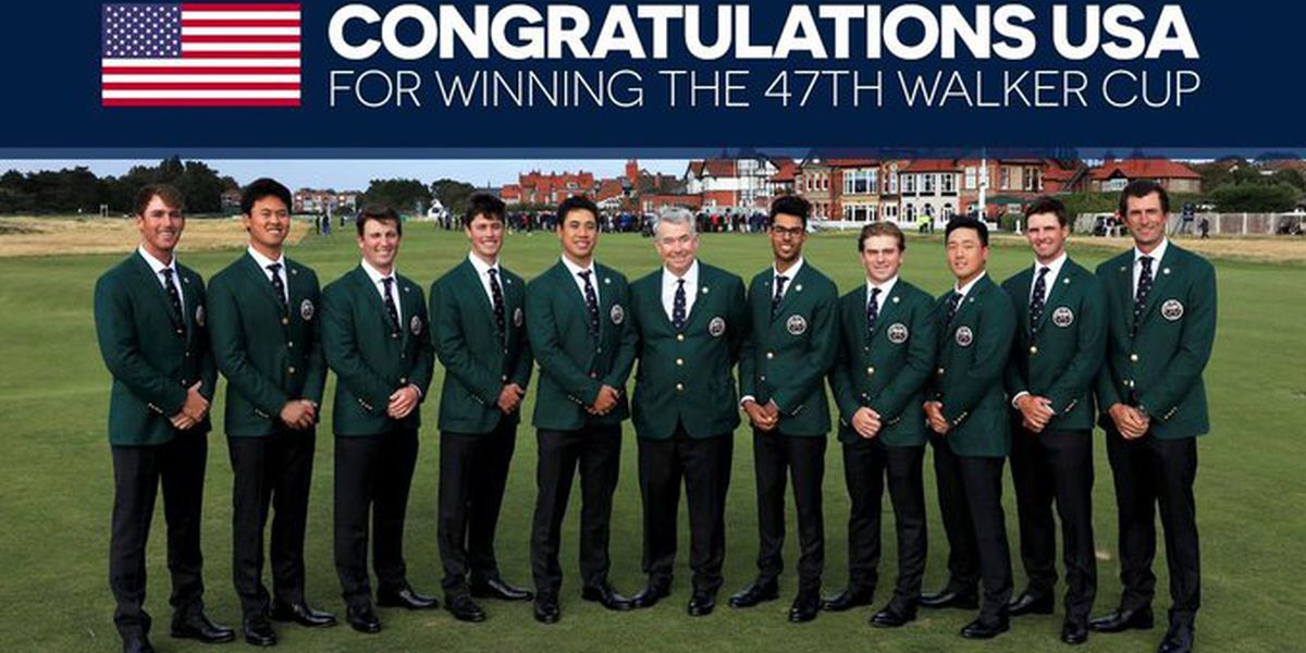 Former GS Eagle part of history-making Walker Cup team