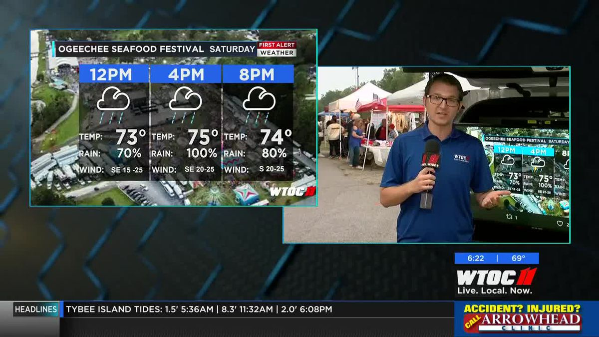 21st annual Great Ogeechee Seafood Festival set to kick off in Richmond Hill