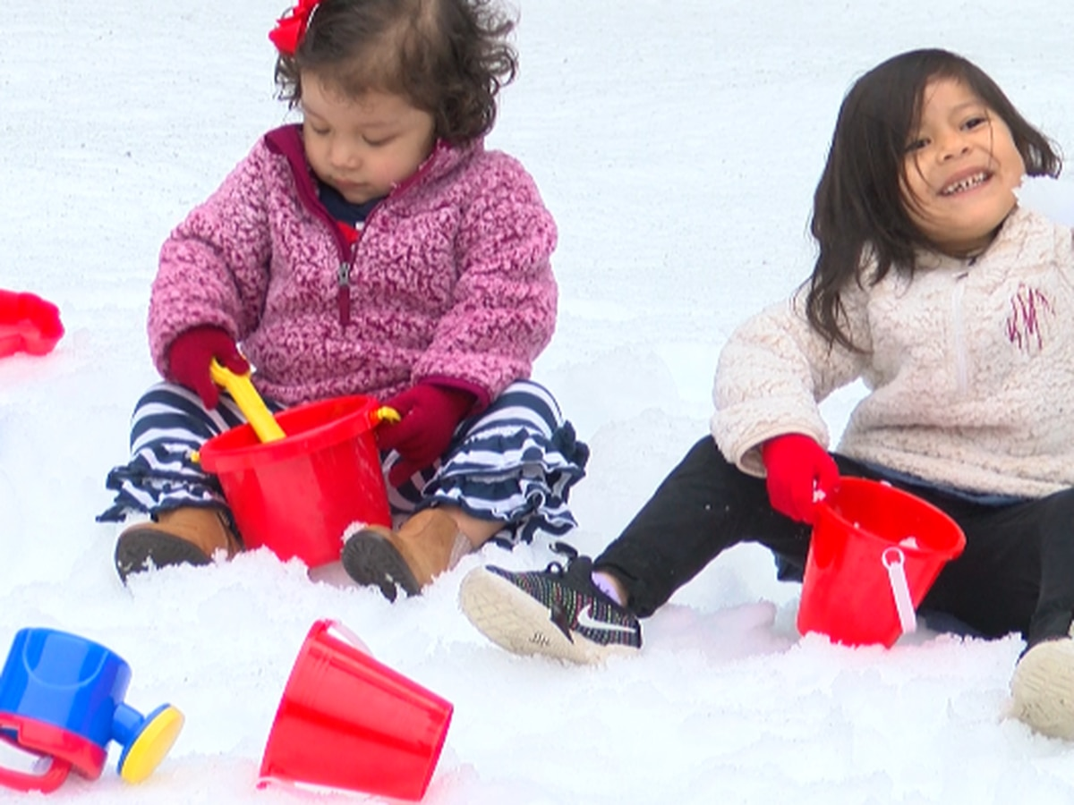 Children's Hospital staff hosts 'Snow Day' for patients