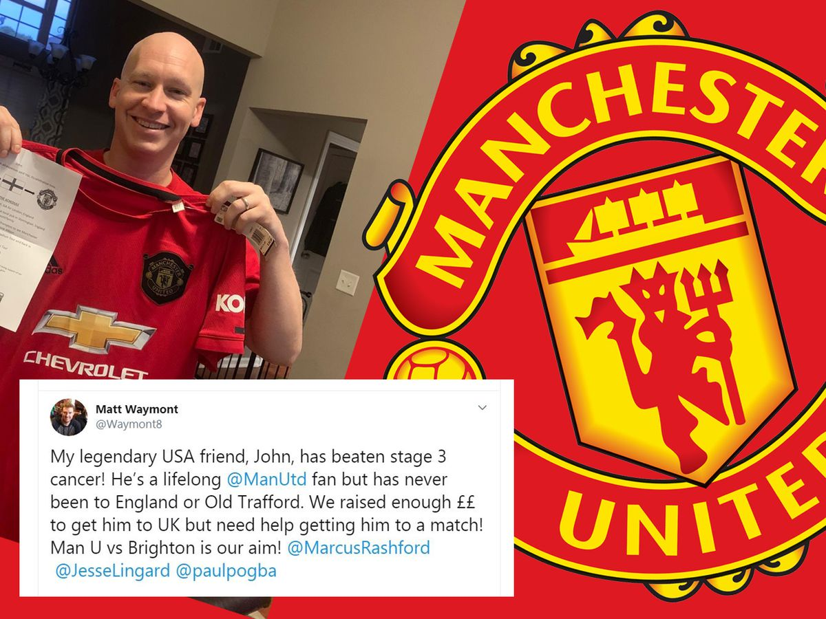 Man Utd player helps dream trip come true for Ga. cancer survivor