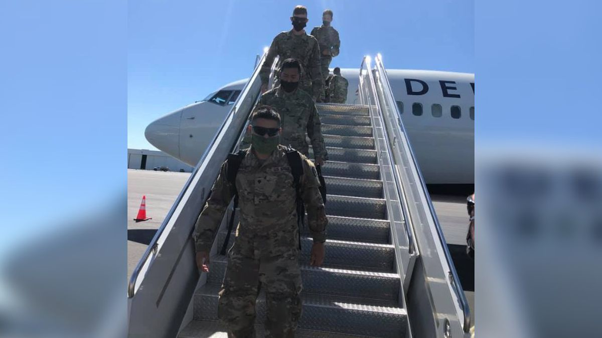 N.C. soldiers return home from Middle East, arrive in Charlotte