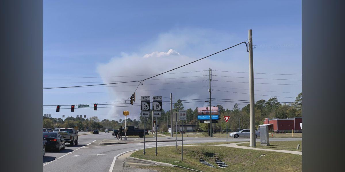 Fort Stewart holding controlled burn