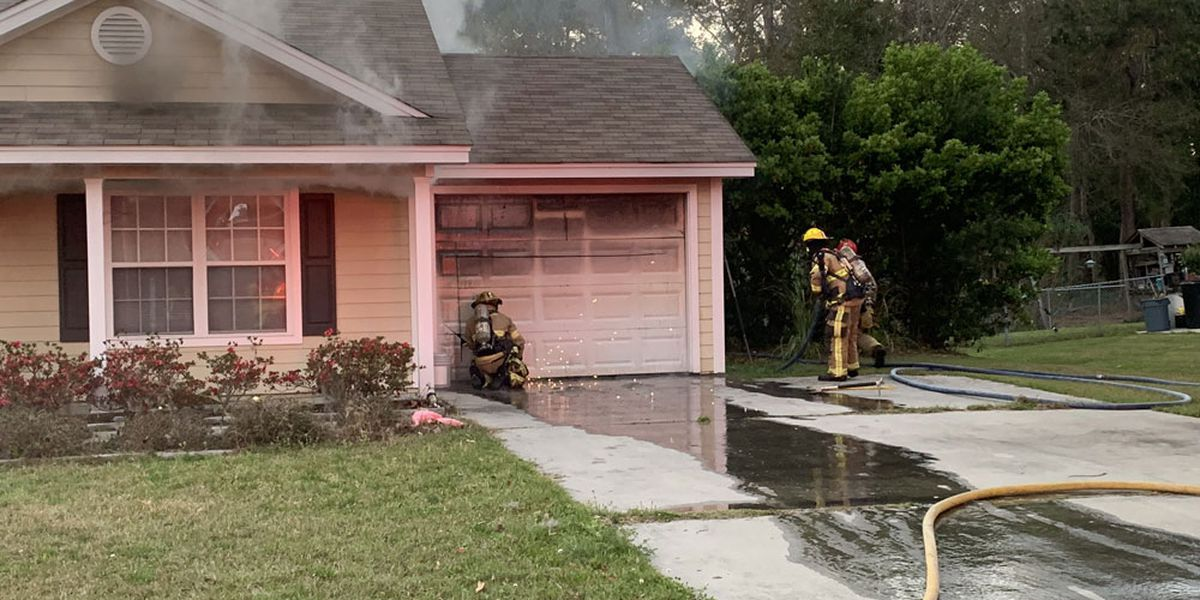Quick response saves Lowcountry home from fire