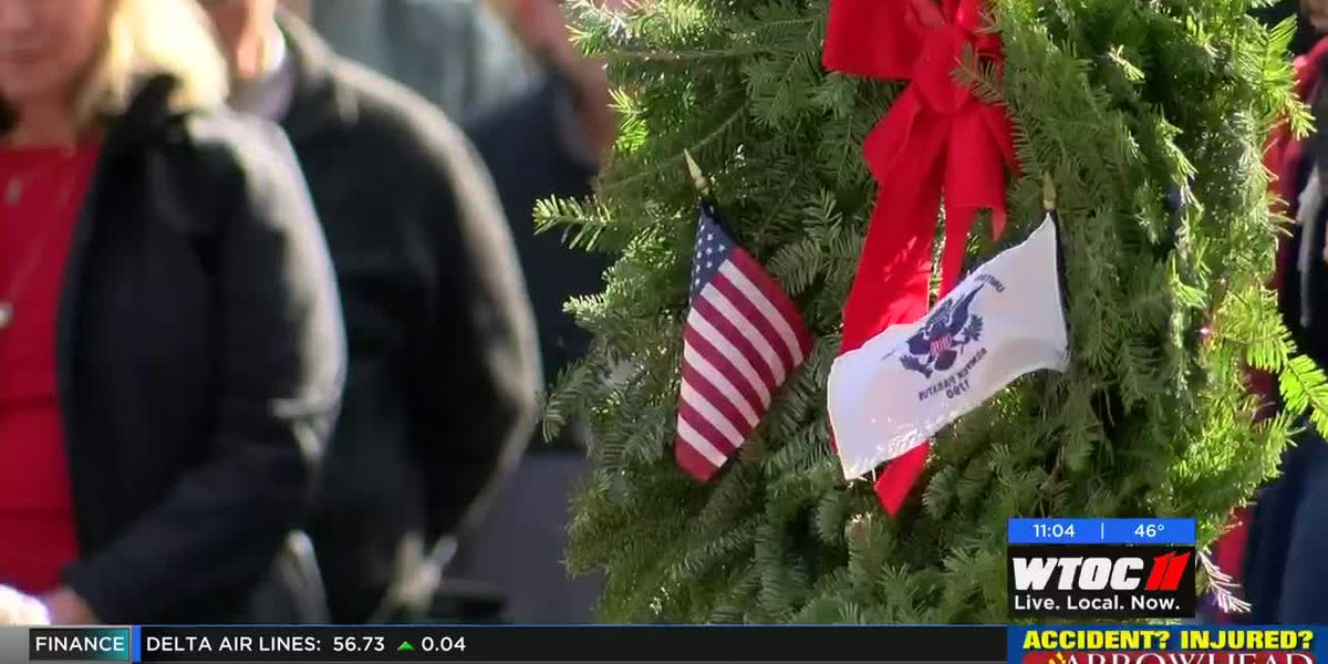 Thousands honor fallen veterans with Wreaths Across America