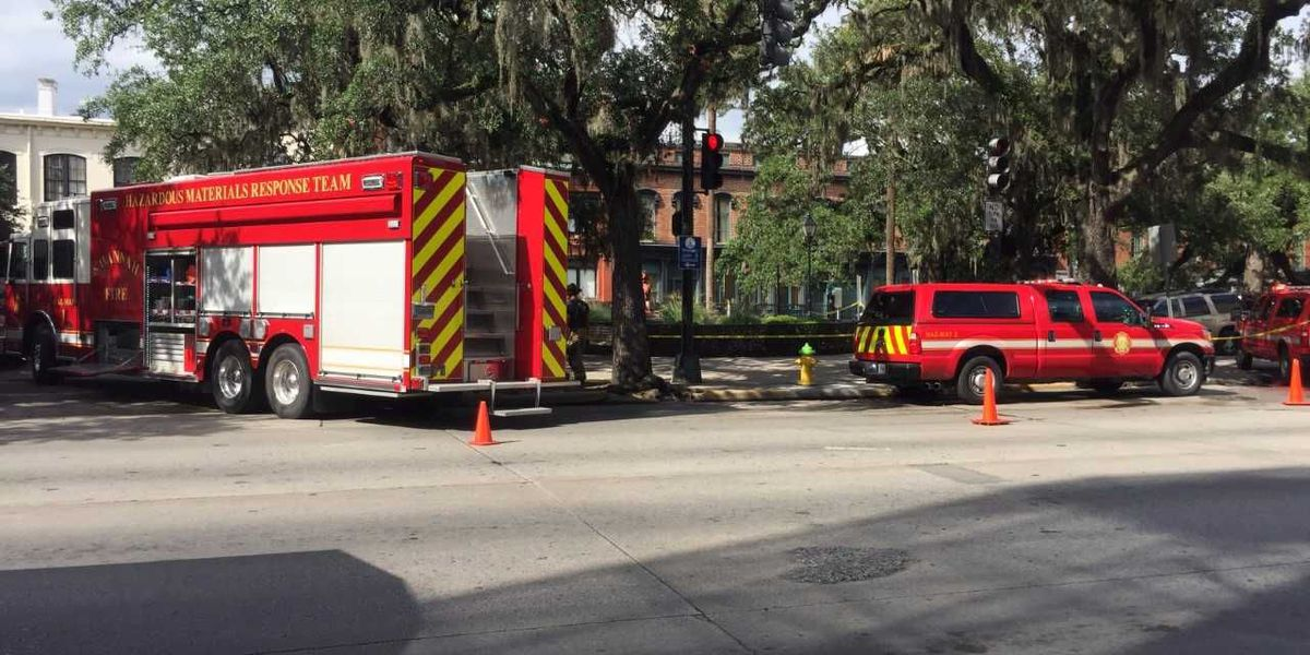 Hazmat situation at Bay, Drayton streets caused by Clorox tablet