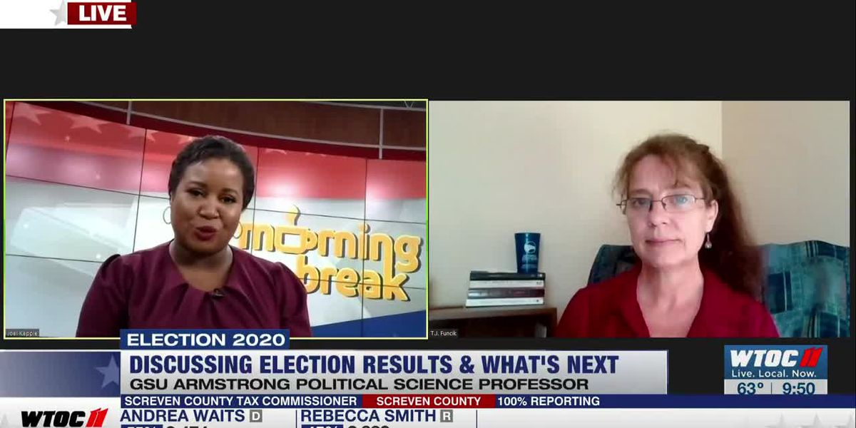 Political Science Professor Discusses Election Results