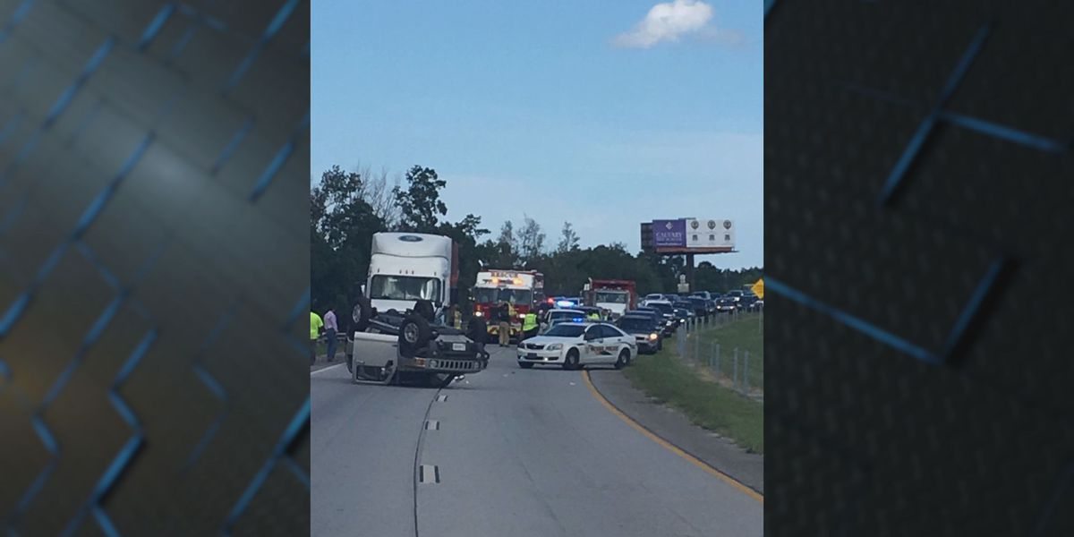 One person seriously injured in crash on I-16