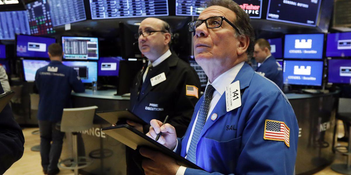Stocks sink again on Wall Street, head for worst week since 2008