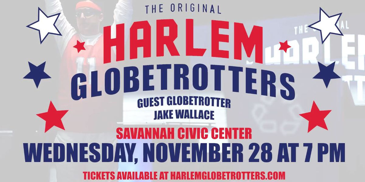 Harlem Globetrotters to perform in Savannah